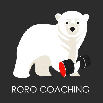 Logo roro coach remise en forme