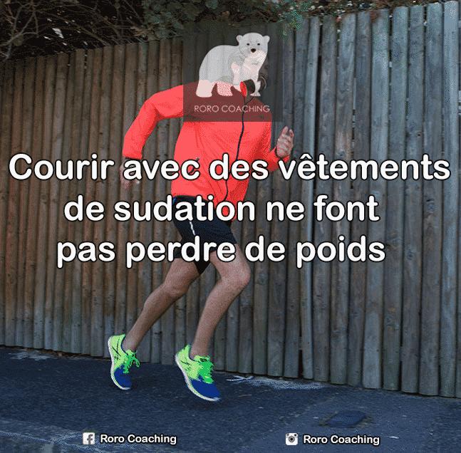 Coach sportif Lyon - Courir vêtement sudation
