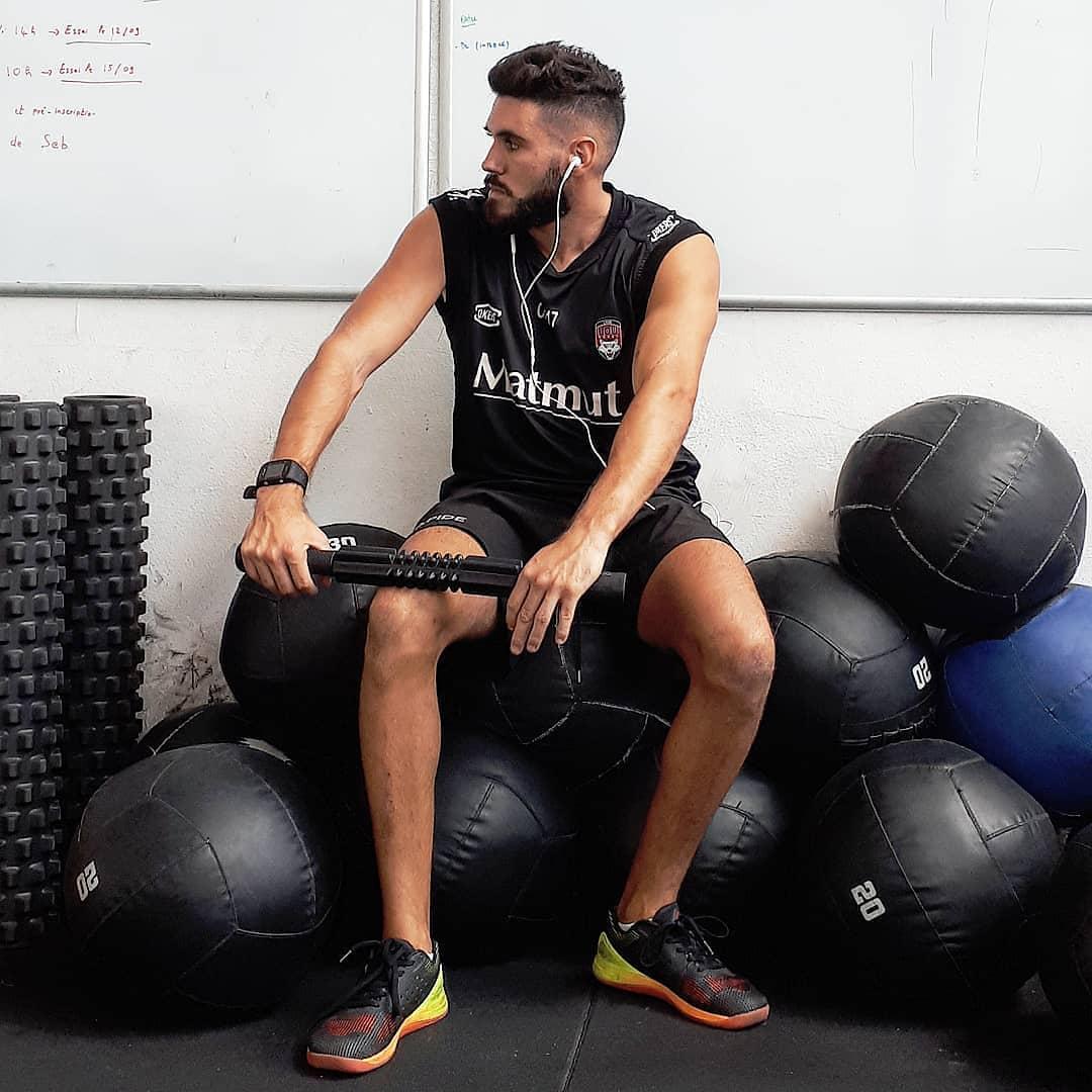 Débardeur Lou Rugby - Stick et rouleau automassage - Wall ball