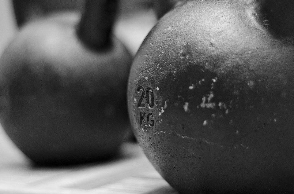 Kettlbel 20kg - fitness
