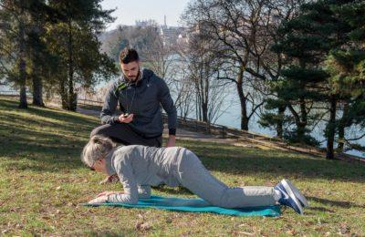 Bien choisir son coach sportif - Roro Coaching (Kévin Roberti) et Agnès Sauvry au parc de la tête d'Or : Lyon