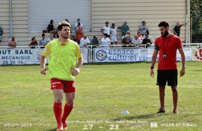 Métier de préparateur physique selon Kévin ROBERTI avec son joueur Rémy Bouvier - Saint Priest Rugby